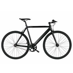 6ku black aluminum single speed fixie urban track bike