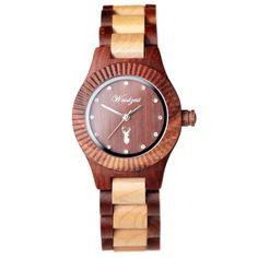 Auerhahn PREMIUM dámske – waidzeit.sk Wood Watch, Austria, Watches, Design, Accessories, Women's, Wooden Clock, Wristwatches