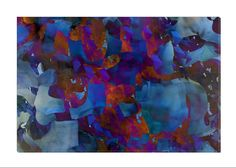 """Cool abstract design that makes for great wall art! Add beauty to any room with this gorgeous canvas wrapped art print. Features: • UV-coating, scratch resistant • 1.25"""" thick edges • Ready to hang"""