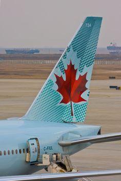 Air Canada tail graphic