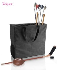 Keep sports equipment organized and off of the floor with the Room For Two Utility Tote. Your garage will thank you! www.mythirtyone.com/176225