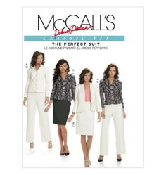 Misses' Lined Jackets, Skirt And Pants