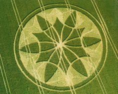 Bishop Cunnings crop circle 2000