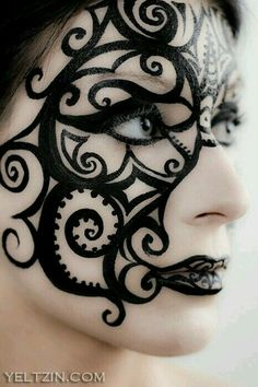 #abstract#face#painting