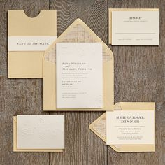 Wedding Invitation Ideas | Paper Source  Swirls Wedding Invitation - Jane & Michael