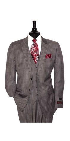 If you are in the market for brand new men's fashion suits, there are a lot of things that you will want to keep in mind to choose the right suits for yourself. Below, we will be going over some of the key tips for buying the best men's fashion suits. Sharp Dressed Man, Well Dressed Men, Dress Suits, Men Dress, Suit Fashion, Mens Fashion, Grey Suit Men, Black Suits, 3 Piece Suits