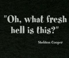 Big Bang Theory's Dr. Sheldon Cooper.