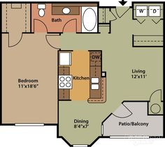 Small House Floor Plans, Cabin Floor Plans, House Plans And More, Dream House Plans, Modern House Plans, 4 Bedroom House Plans, Cottage House Plans, Craftsman House Plans, Tiny House Layout
