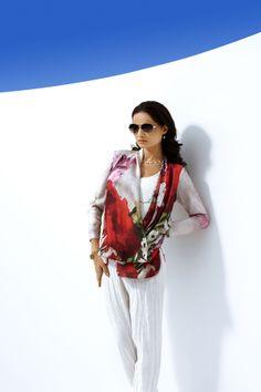 Kirsten Krog voorjaar 2014 - damesmode – Chanty Mode #chantymode #damesmode #grotematen #bruidsmoedermode #gelegenheid