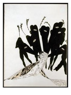 Beardsley: Salome Giclee Print by Aubrey Beardsley at Art.com