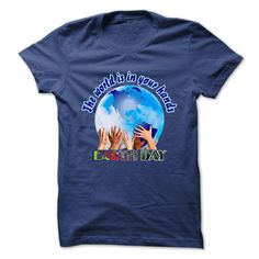 Earth Day The World Is In Your Hands T-Shirts, Hoodies. CHECK PRICE ==► https://www.sunfrog.com/Holidays/Earth-Day-The-World-Is-In-Your-Hands-.html?id=41382