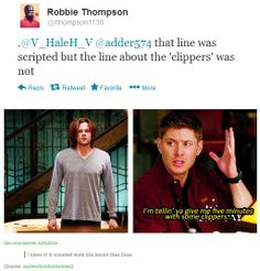 "8x20 Pac-Man Fever - Robbie Thompson confirms Jensen's ""Clippers"" line."