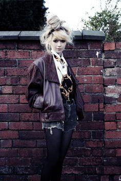 Her jacket