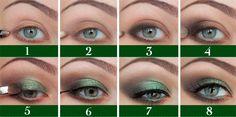 Verde metalizado + Info sobre nuestro CURSO: http://curso-maquillaje.es/msite-nude/index.php?PinCMO