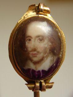 William Shakespeare  Antique Georgian Porcelain by AgsTreasures