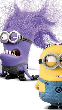 Despicable Me purple minion iphone 6 wallpaper - 2014 Halloween iphone 6 wallpaper
