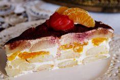 Ovocná smotanová torta