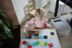 Puzzle - barvy