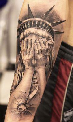 Tattoo Artist - Miguel Bohigues - statuary tattoo | www.worldtattoogallery.com