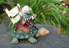 Slow and Steady Wins the Race OOAK Art Doll. $325.00, via Etsy.