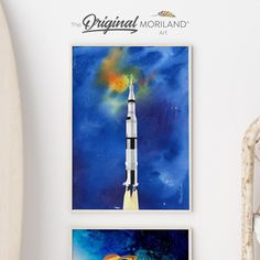 Spacecraft Fine Art Paper Print