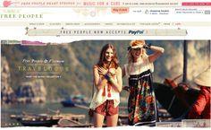 diseños tiendas en linea free people 1024x632 33 Ejemplos de diseños de tiendas en linea