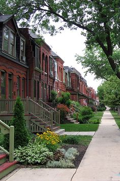 Row Houses, Pullman Historic District, Chicago