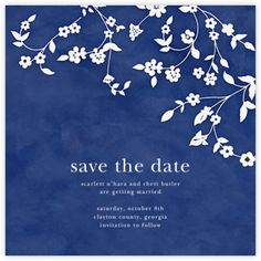 Floral Trellis - Save The Date - Paperless Post