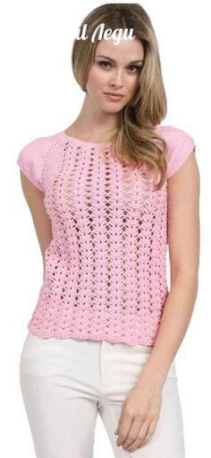 Crochetemoda: Tops                                                                                                                                                                                 Mais                                                                                                                                                                                 Mais