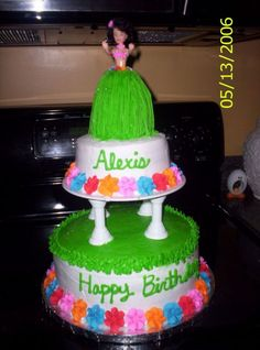 Luau Cake Ideas For Kids