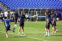 Tottenham Hotspurs hold open training session in Baltimore