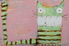 Torben Gammelgaard   Le Chat Sauvage - lithograph