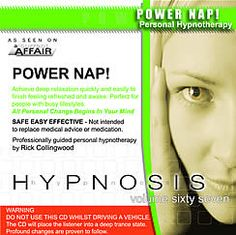 Power Nap! Better study MP3 :- This MP3 is great when you have 30 minutes quiet time during the day to sit back, relax and listen and enjoy a hypnotic power nap before going back to your daily activities or work feeling super refreshed! It is perfect for professionals and anyone who has a busy lifestyle and needs a powerful relaxation session. It will help give you the same feeling as when you awake after a great sleep.
