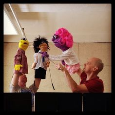 MY JOURNEY CREATING AND PRODUCING PUPPETRY... TRIALS, TRIBULATIONS, INSPIRATION AND CONTEMPLATION.