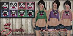 .: Somnia :. Awesome Panda http://maps.secondlife.com/secondlife/Snatch%20City/218/107/30