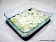 Recipes by the Haggis and the Herring: Secret Recipe Club: Creamy Cucumber Salad with Dill
