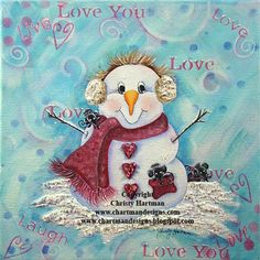 snowman tole paintings free | The Decorative Painting Store: Snowtime is the Right time to Fall in ...