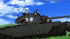 戦車と女子高生のアニメ『ガルパン』、なぜヒット? | 乗りものニュース