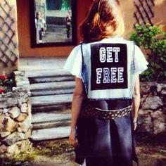 handmade get free gilet