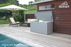 Úložný box FreizeitBox 180, stříbrná metalíza           - Kliknutím zobrazíte detail obrázku.