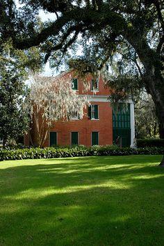 Shadows on the Teche Plantation, Circa 1834, Louisiana