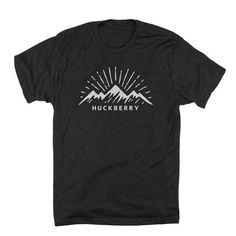 2ea50da4b Sunrise | Huckberry Mountain Designs, Tee Design, Tee Shirt Designs, Print  Design,