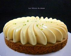 My lemon tart revisited - Les Délices de Mimm - Healthy Recipes 👩‍🍳 Easy Smoothie Recipes, Snack Recipes, Dessert Recipes, Fancy Desserts, Lemon Desserts, Coconut Recipes, Pumpkin Spice Cupcakes, Cookies Et Biscuits, Ice Cream Recipes
