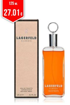 736dec7efc365 Let the original Lagerfeld - LAGERFELD edt vapo 125 ml surprise you and  define your personality using this exclusive men s perfume with a unique