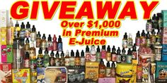 Help me win over $1,00 worth of premium ejuice from Fuggin Vapor at http://VapingCheap.com