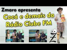 Zmaro visita a Rádio Clube FM e conhece Cacá e todo pessoal de lá...