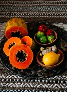 Spicy Papaya Fruit S