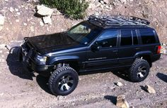 Custom Black Jeep ZJ