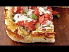 Light Chicago Deep Dish Pizza Recipe