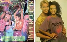 I had the purple/pink Hypercolor shirt! Probably probably danced many-o Roger Rabbit and Kid-n-Play moves in this shirt! lol